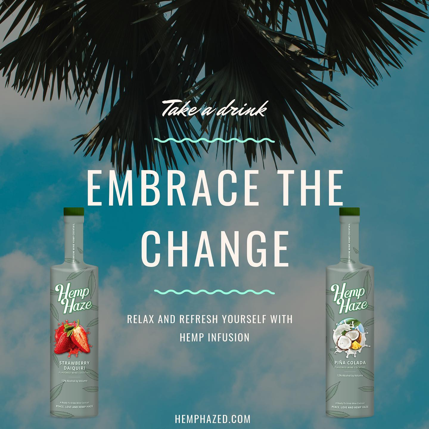 Hemp Hazed Premium Flavored Cocktails